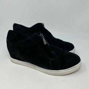 Blondo Womens Glenda Sneakers waterproof black 10